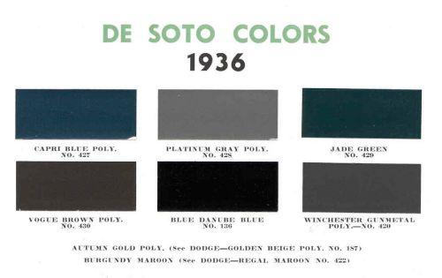 1936 DeSoto