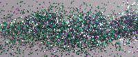 Emerald Ice Silver Green 0.015 .015 Metal Flake Glitter