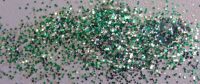 Emerald Mist Green 0.015 .015 Metal Flake Glitter