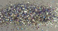 Silver Kaleidoscope 0.015 Metal Flake