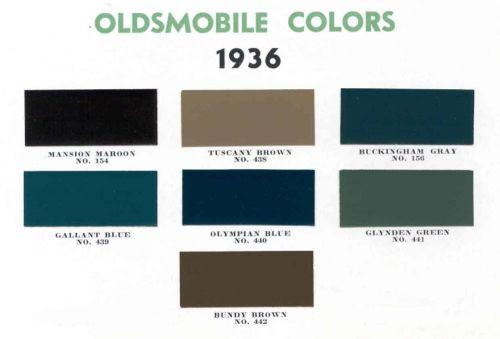 1936 Oldsmobile
