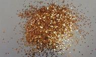 Copper Rush Gold .015 .025 Metal Flake Glitter