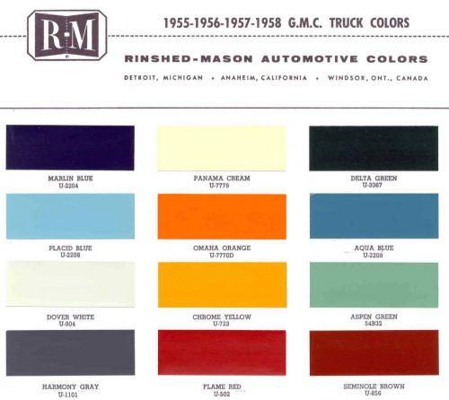 1955-1958 GMC Trucks