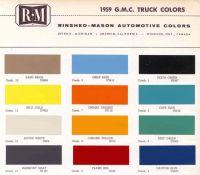 1959 GMC Trucks