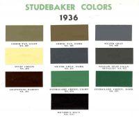 1936 Studebaker