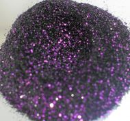 Black Mauve .008 .015 Metal Flake Glitter