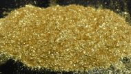 Sparkle Light Gold Pearl Is a Mica Pigment Synthetic Series pearl which is sized at 200-700 UM.