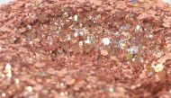 Copper Holographic Mixed Chunky Glitter Metal Flake Tumbler Nail Crafts Paint Epoxy