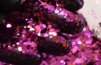 Magenta Ruby Chunky Metal Flake Glitter