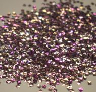 Rose Gold 2MM Square Shaped 3D Glitter Metal Flake