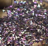 Cosmic Purple 3MM Triangle Shaped 3D Glitter Metal Flake