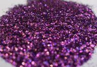 Funky Fuchsia Purple 0.015 .015 Metal Flake Glitter