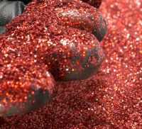 Bright Red Holographic 0.008 .008 Metal Flake Glitter