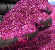 Fuchsia Pink Holographic 0.008 .008 Metal Flake Glitter